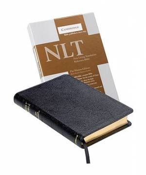 NLT Pitt Minion Reference Edition: Black, French Moroccan Leather