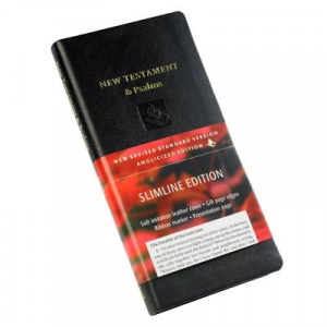NRSV New Testament and Psalms Black Imitation Leather