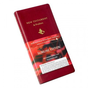 NRSV New Testament and Psalms  Burgundy Imitation Leather