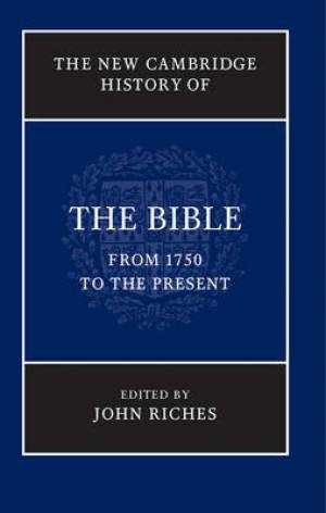 The New Cambridge History of the Bible: Volume 4