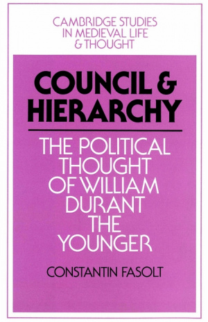 Council and Hierarchy