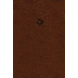 NKJV, Spirit-Filled Life Bible, Third Edition, Leathersoft, Brown, Thumb Indexed, Red Letter Edition, Comfort Print