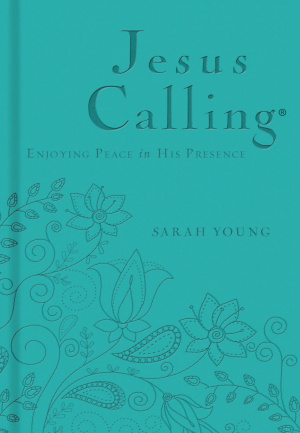 Jesus Calling  Deluxe Edition Teal Cover