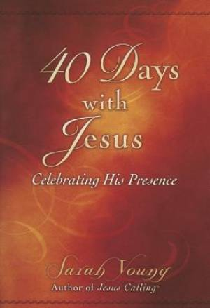 40 Days With Jesus Softcover Book