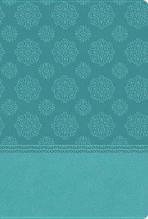 NKJV Centre Column Reference Bible, Imitation Leather, Turquoise