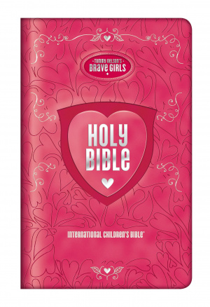 Tommy Nelson's Brave Girls Devotional Bible Pink Leathersoft Cover