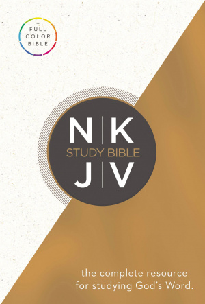 The NKJV Study Bible: Hardback, Full Colour Page Design