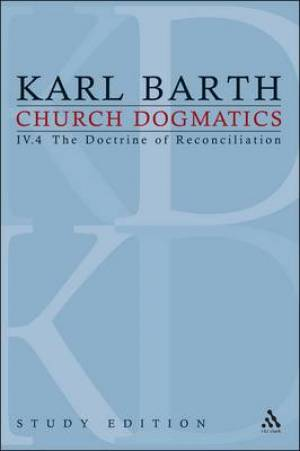 Church Dogmatics Study Edition 30