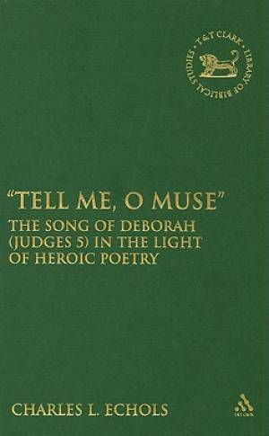 """""""tell Me, O Muse"""""""