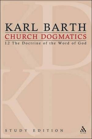 Church Dogmatics Study Edition 3