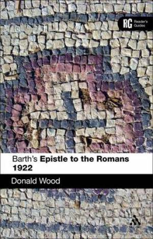 Barth's Epistle to the Romans 1922