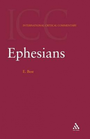 Ephesians : International Critical Commentary