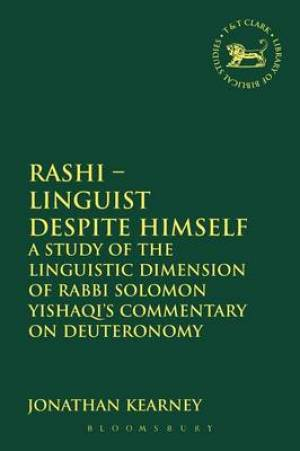 Rashi - Linguist Despite Himself