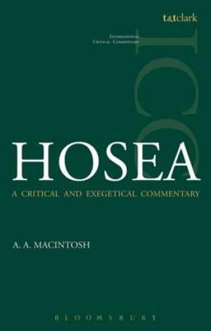 Hosea (ICC)