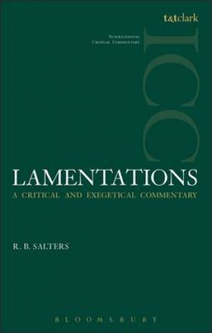 Lamentations (ICC)