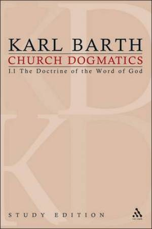 Church Dogmatics Study Edition 2