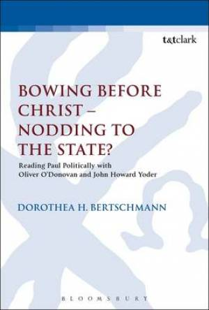 Bowing Before Christ - Nodding to the State?