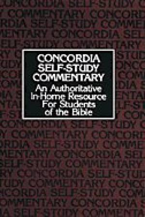 Concordia Self Study Commentary
