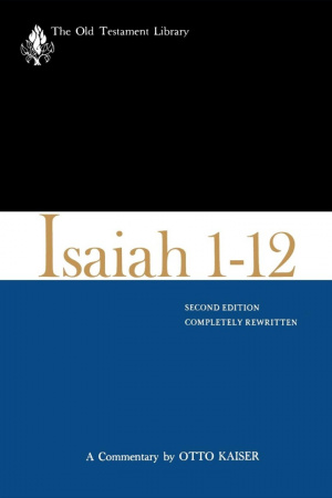 Isaiah 1-12 Old Testament Library
