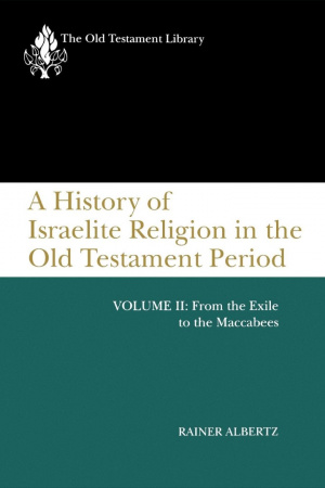 History Of The Israelite Religion In The