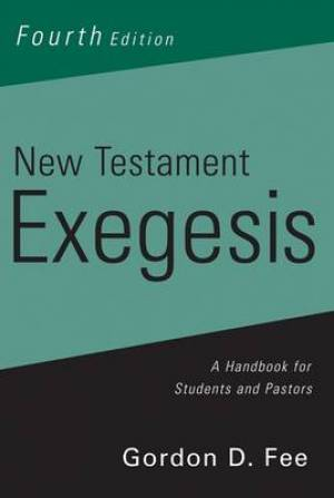 New Testament Exegesis