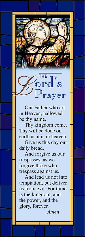 The Lord's Prayer Bookmark (Package of 25)