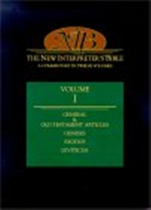 The New Interpreter's Bible : Vol 1 : Genesis, Exodus, Leviticus