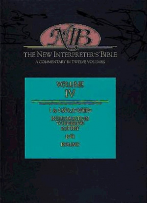The New Interpreter's Bible : Vol 4 : Introduction to Hebrew Poetry, Job, Psalms, 1 & 2 Maccabees