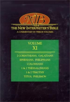 The New Interpreter's Bible : Vol 11 : 2 Corinthians - Philemon