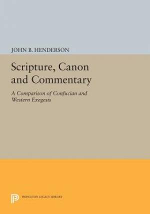 Scripture, Canon and Commentary