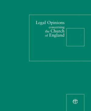 Legal Opinions Concerning The Church Of England