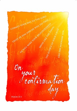 Sun Confirmation Card - Pack of 10