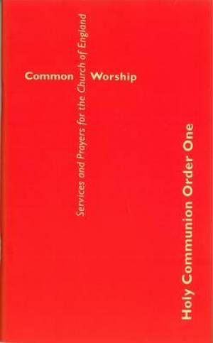 Common Worship: Holy Communion Order One, Large Print