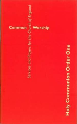 Common Worship: Holy Communion Order One, Large Print