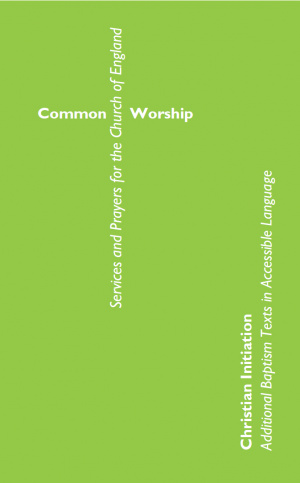 Common Worship Christian Initiation