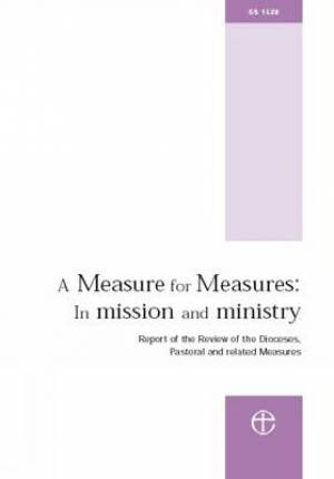 A Measure for Measures: In Mission and Ministry