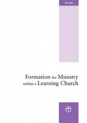 Formation for Ministry within a Learning Church