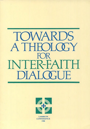 Towards a Theology for Inter-faith Dialogue