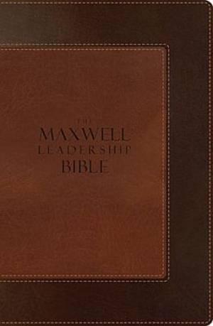NIV Maxwell Leadership Bible: Imitation Leather, Brown/Light Brown