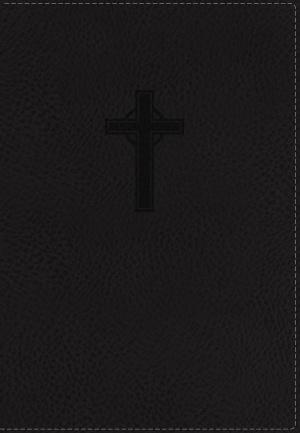 Nkjv, Ultraslim Reference Bible, Imitation Leather, Black, Red Letter Edition