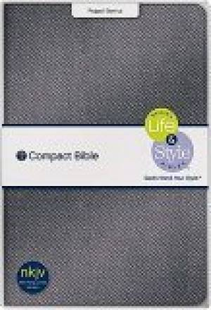 NKJV Life & Style Compact Bible:  Black, Imitation Leather, Peppa' Genius