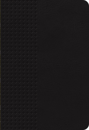 NKJV Personal Size Giant Print Reference Bible Black Thumb Indexed Imitation Leather