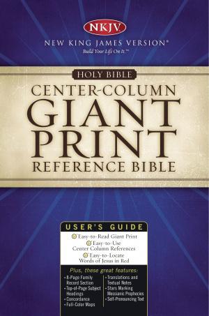 NKJV Reference Bible: Burgundy,  Bonded Leather, Giant Bible