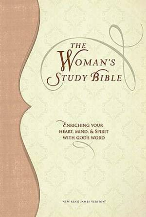 NKJV The Woman's Study Bible: Tan, Leathersoft