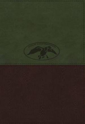NKJV, Duck Commander Faith and Family Bible, Imitation Leather, Green/Brown, Indexed