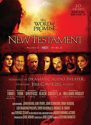 NKJV The Word of Promise Dramatised New Testament Audio Bible on CD