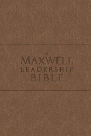 NKJV Maxwell Leadership Bible: Coffee, Bonded Leather