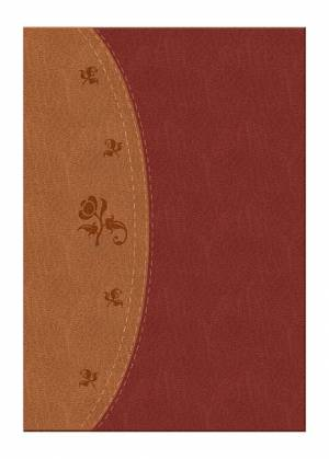 NKJV Woman's Study Bible: Chestnut Brown/Burgundy, LeatherSoft