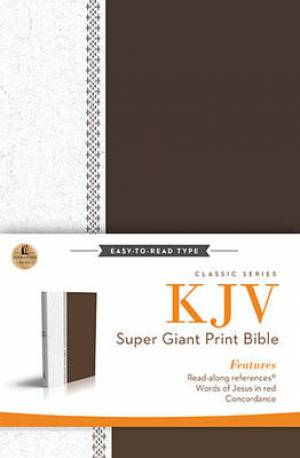 KJV Super Giant Print Reference Bible Super Giant Print (17pt)