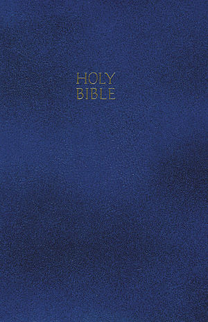 NKJV Gift and Award Bible:  Blue, Leatherflex